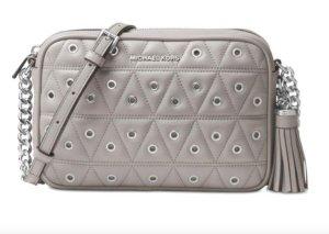 Michael Kors Camera Bag pearl grey - NEU !!