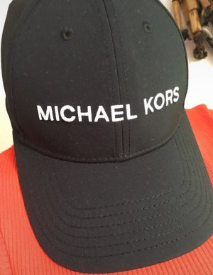 Michael Kors Baseballpet zwart-wit