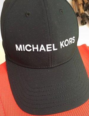 Michael Kors Gorra de béisbol negro-blanco
