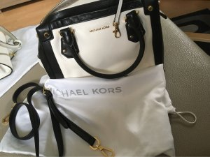 Michael Kors Bowling Bag white leather