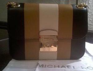 Michael Kors Center Stripe schwarz/camel/creme -Original-