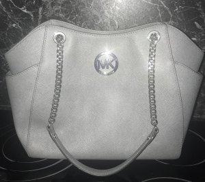 Michael Kors Chain Bag Grau