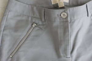 Michael Kors Chinos silver-colored cotton