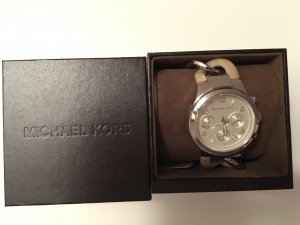 Michael Kors Analog Watch multicolored real silver