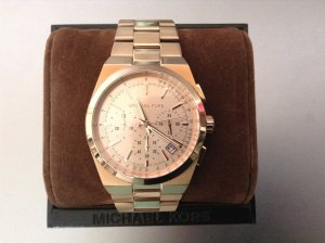 Michael Kors - Chronograph in rose Gold