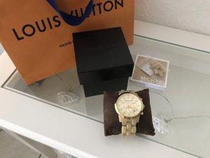Michael Kors Chronograph MK5217 Horn Jet Set Uhr Gold FULLSET
