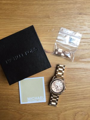 Michael Kors Watch With Metal Strap rose-gold-coloured-white