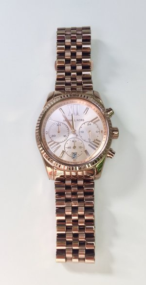 Michael Kors Analog Watch rose-gold-coloured stainless steel