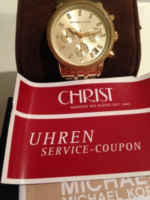 MICHAEL KORS CHRONOGRAPH UHR GOLD