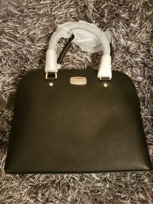 Michael Kors Cindy LG Dome Satchel LEATHER