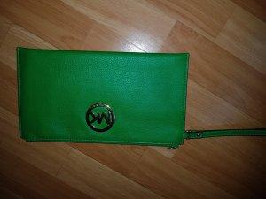 Michael Kors Borsa clutch verde neon Pelle
