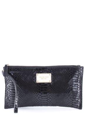 Michael Kors Clutch black animal pattern business style