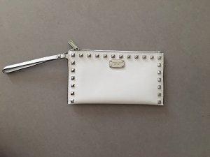 Michael Kors Borsa clutch bianco-argento