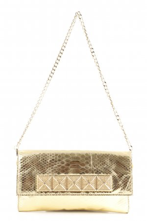 Michael Kors Clutch goldfarben Glanz-Optik