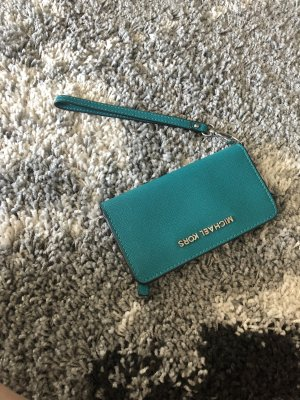 Michael Kors Mobile Phone Case cadet blue