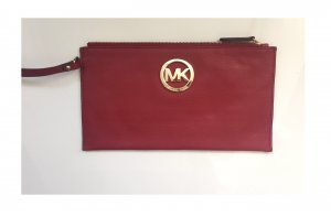MICHAEL KORS Clutch Leder in rot ***NEU***ORIGINAL