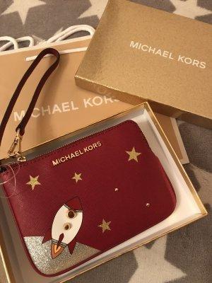 Michael Kors Bolso de mano rojo oscuro