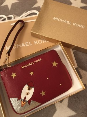 Michael Kors Clutch dark red