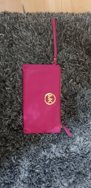 michael kors clutch pink