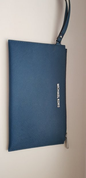 Michael Kors Pochette blu acciaio-blu fiordaliso Pelle