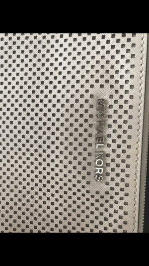 Michael Kors Clutch Silber