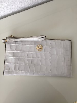 Michael Kors Clutch weiß