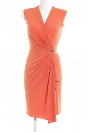 Michael Kors Cocktailkleid orange extravaganter Stil