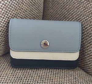 Michael Kors Coin Cardcase Blau weiß silber neu Geldbörse Portemonnaie