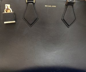 Michael kors collection bag in schwarz