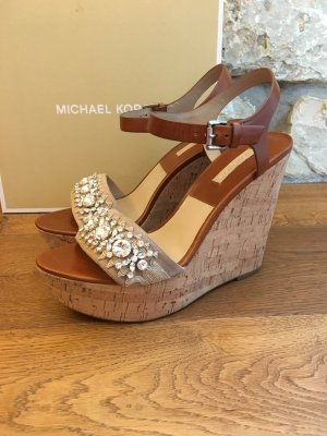Michael Kors Wedge Sandals multicolored leather