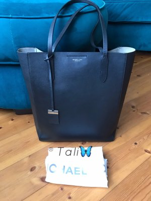 Michael Kors Collection Tasche Eleanor Large LG Schwarz Silber