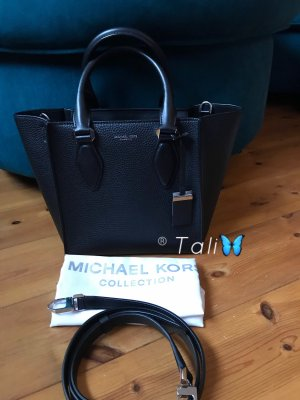 Michael Kors Collection Tasche Gracie SM Small Schwarz Silber