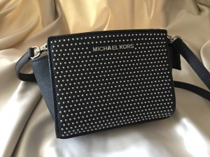 Michael Kors Mini Bag black-silver-colored