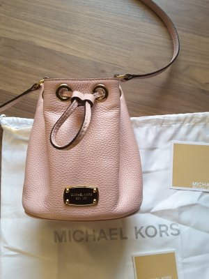 Michael Kors Pouch Bag pink-dusky pink leather