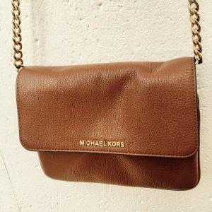 Michael Kors Crossbody Leather cognac