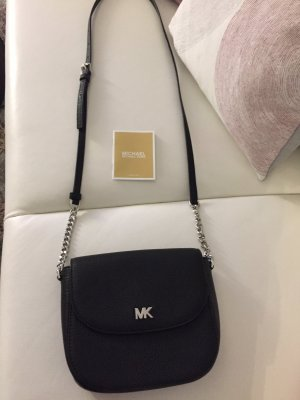 Michael Kors Gekruiste tas zwart-zilver