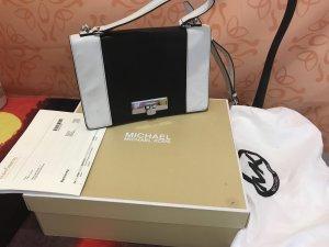 Michael Kors Shoulder Bag black-white