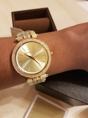 Michael Kors Analog Watch gold-colored-cream stainless steel