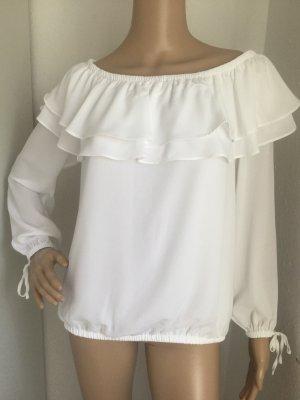 MICHAEL KORS Damen Bluse in Weiß Gr.S