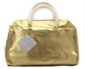 Michael Kors Damen Handtasche gold metallic Henkeltasche 41 x 21 x 18 cm groß