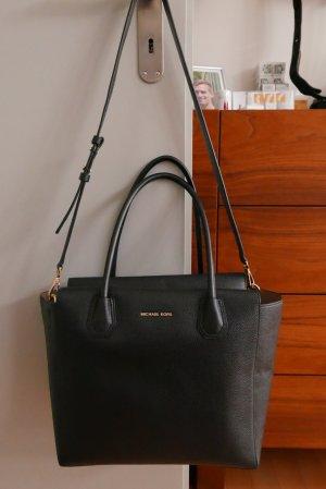Michael Kors Carry Bag black-beige leather