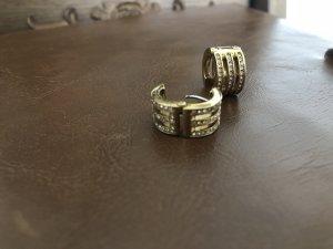 Michael Kors Ear Hoops gold-colored