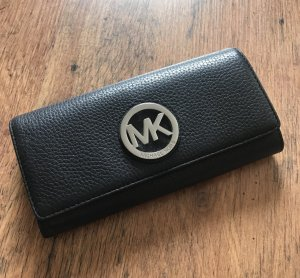 Michael Kors Wallet black-silver-colored