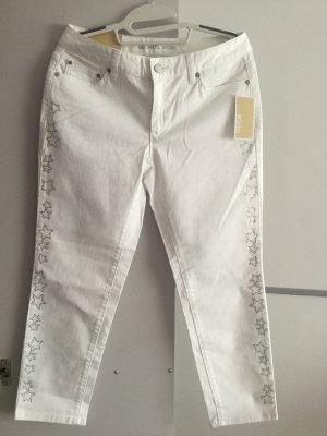 MICHAEL KORS Damen Selma Skinny Jeans in Weiß Gr.36/38 (Size 4)
