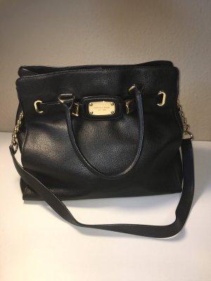 Michael Kors Damen Tasche Original Tote Bag Schwarz / goldene Details