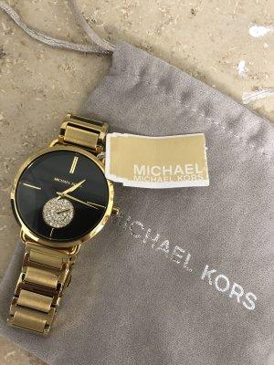 Michael Kors Orologio con cinturino di metallo oro-nero