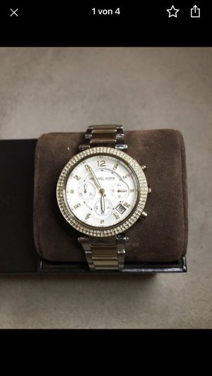 Michael Kors Watch With Metal Strap gold-colored-silver-colored