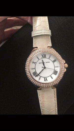 Michael Kors Damen Uhr Leder Armband Neu Rose