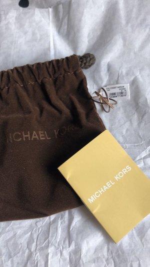Michael Kors Anillo de cuentas color bronce
