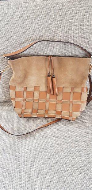 Michael Kors Damentasche aus Leder Camel